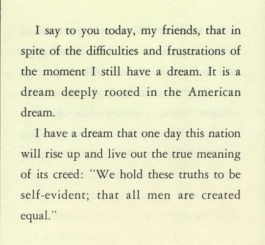 dr king i have a dream speech full text