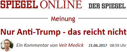 Veit Medick: Nur Anti-Trump - das reicht nicht