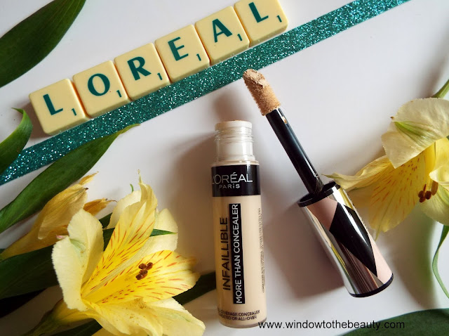 loreal concealer review and swatches