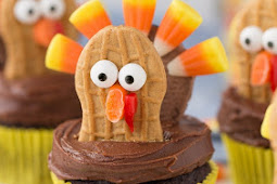 Turkey Cupcakes – Thanksgiving Cupcake Decorating