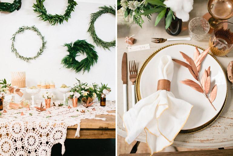 inspiración-mesas-navidad-blanco-cobre-crochet-retro-chic