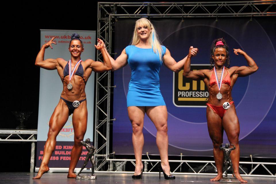 Female bodybuilders and very muscular women :