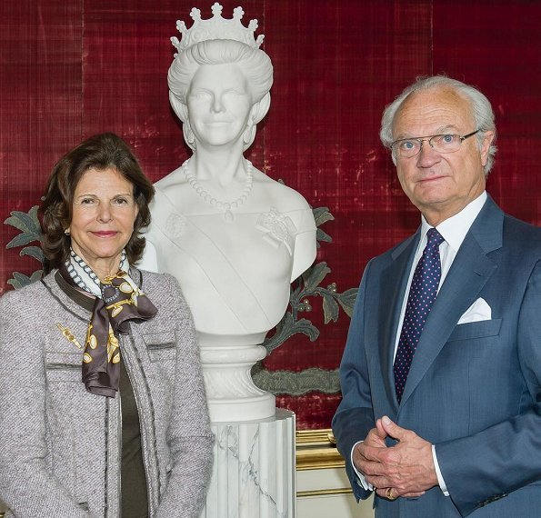 Swedish royal court published new photo on the occasion of 75th birthday of Queen Silvia. Crown Princess Victoria, Princess Madeleine