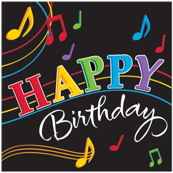 Musical bday card