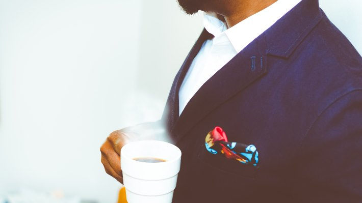 Wallpaper: Suit and Coffee