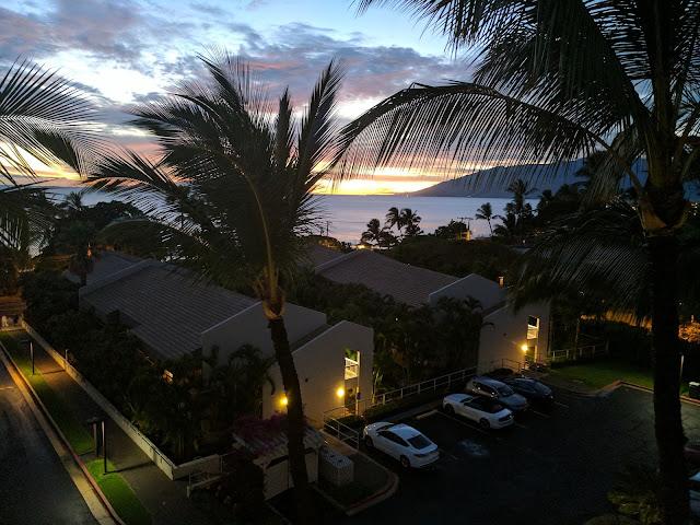 Мауи. Вид из отеля на океан