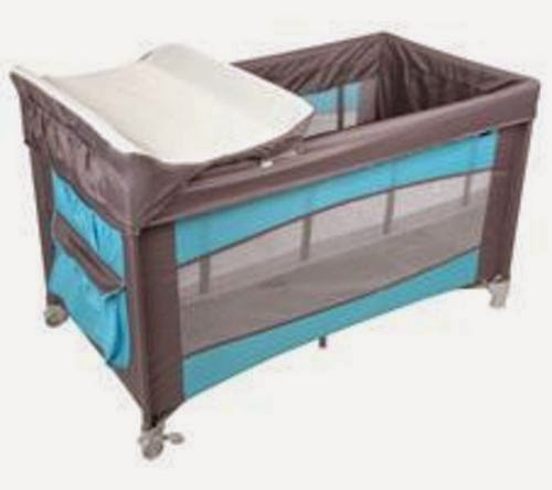 tex baby lit parapluie b b tex turquoise et gris. Black Bedroom Furniture Sets. Home Design Ideas