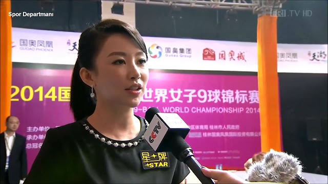 Queen of Nine-Ball - Chinese snooker player Pan Xiaoting HD Photos