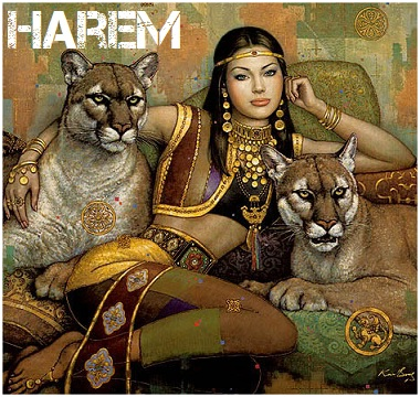jessica alba harem girl