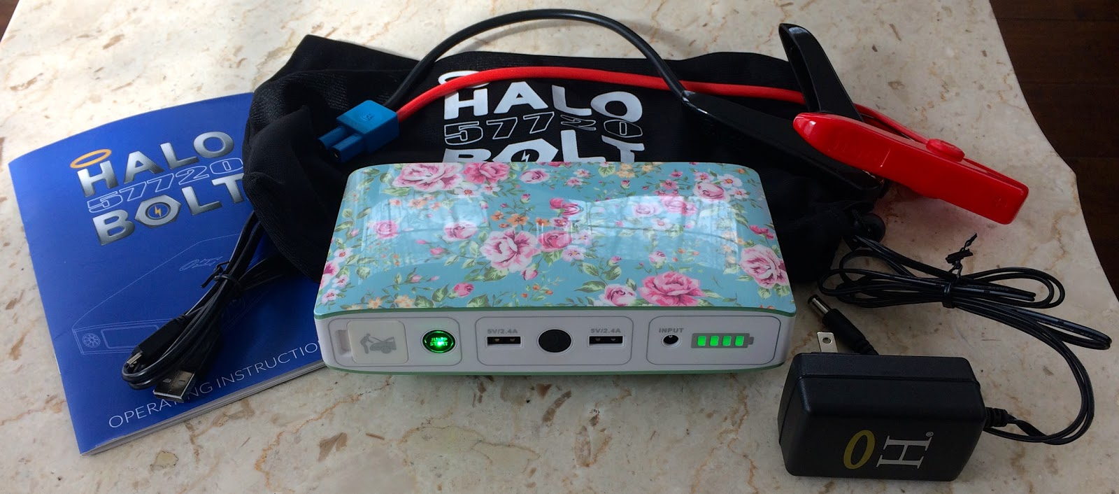 Blue Skies For Me Please Qvc S Halo Bolt Portable Charger