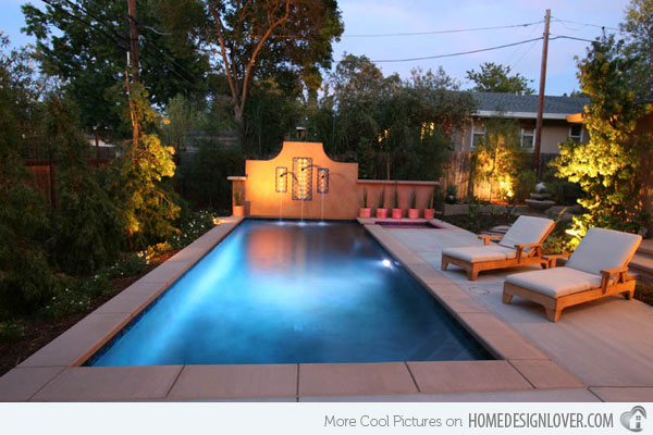 Small Pools For Small Yards Above Ground Backyard Designs