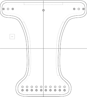 diaper cut out template - simple diaper sewing tutorials fitted diaper pattern
