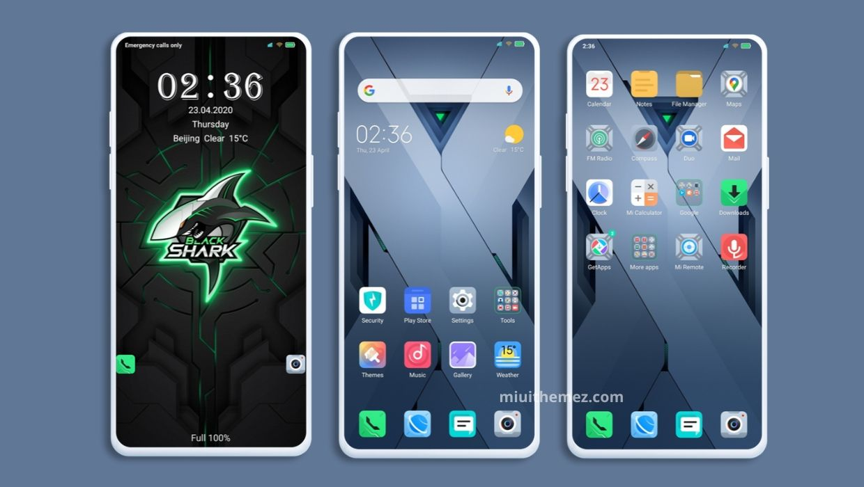 Black Shark 3 v11 MIUI Theme