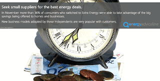 Seek small suppliers for best energy deals