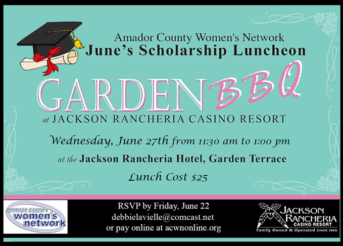 ACWN Scholarship Luncheon - Wed June 27