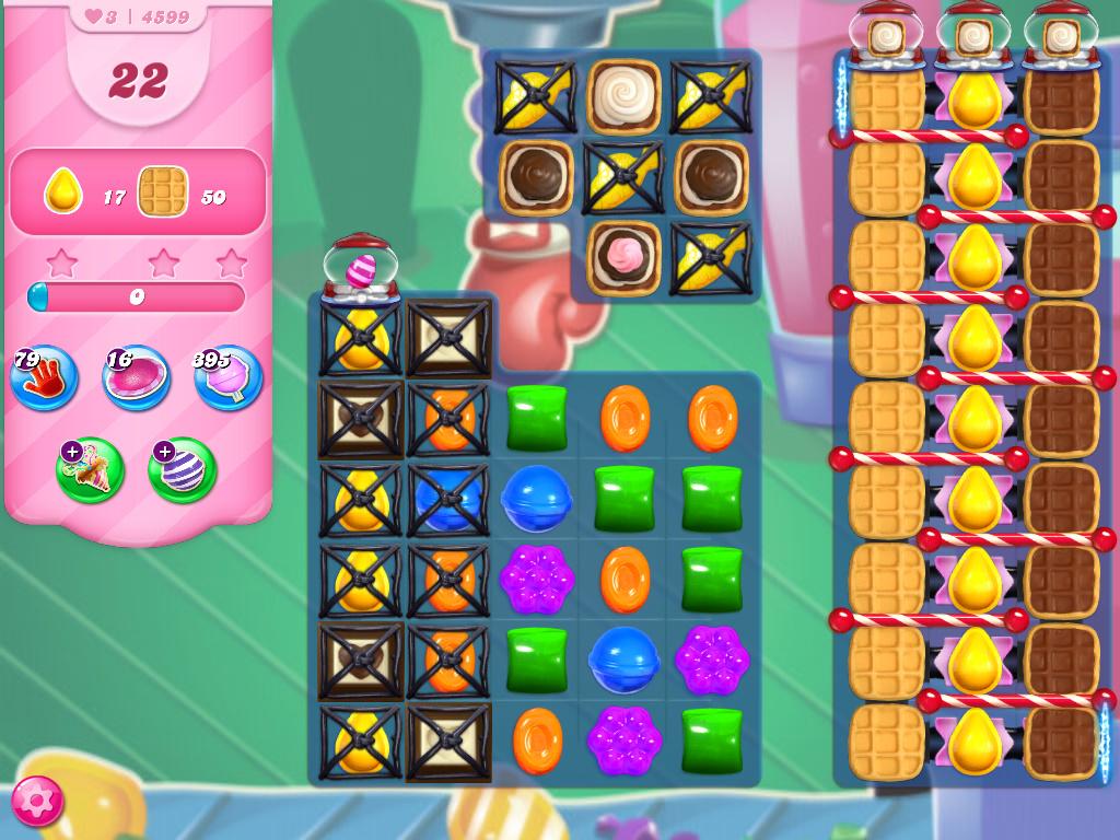 Candy Crush Saga level 4599