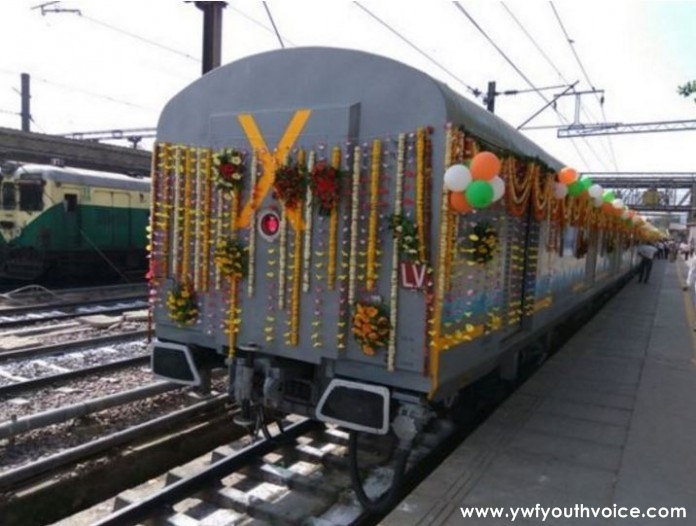 first look of india s fastest train gatimaan express