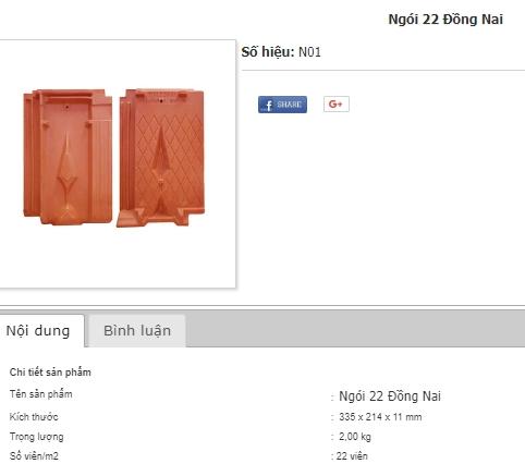 Ngói 22 Đồng Nai rẻ