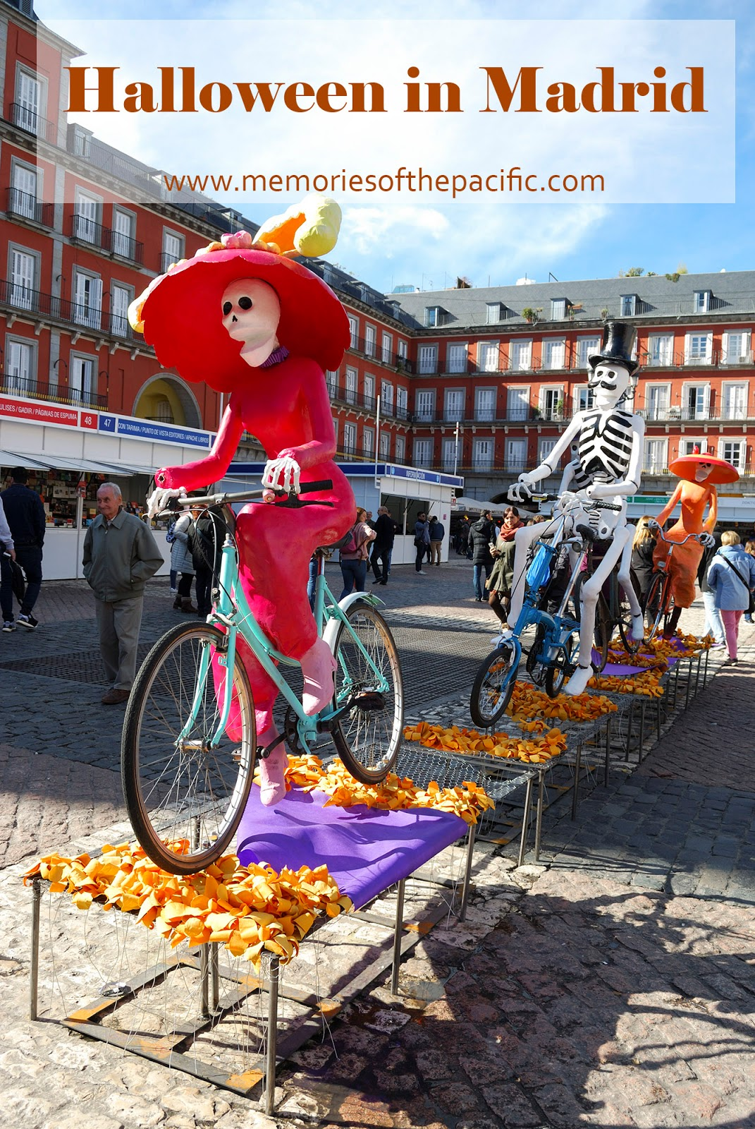 halloween mexico catrina madrid plaza mayor spain