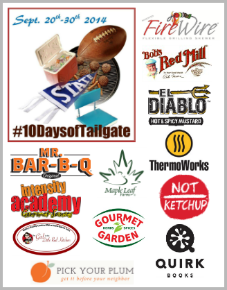 Our #10DaysofTailgate sponsors #tailgating #gamedayfood