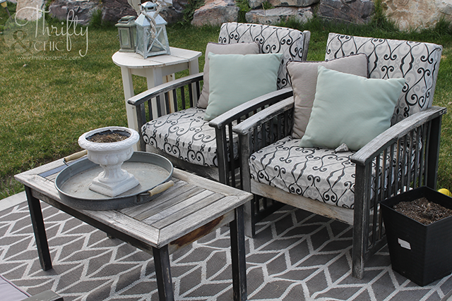 Diy Projects And Home Decor, Slipcovers For Outdoor Chair Cushions