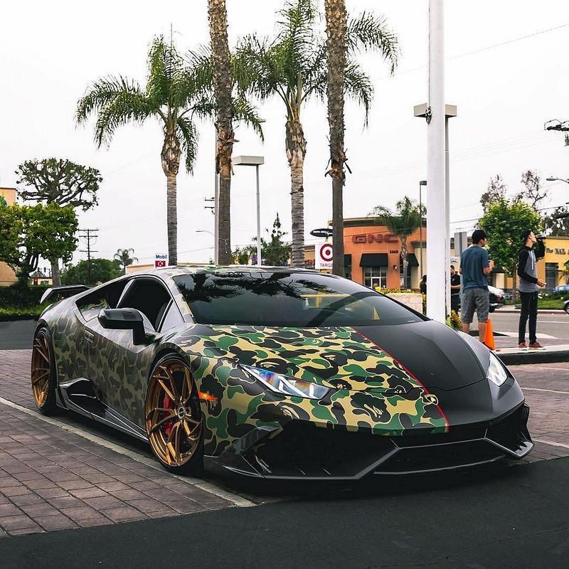 Clear HURACAN Military Style BAPE  Lamborghini My Interests