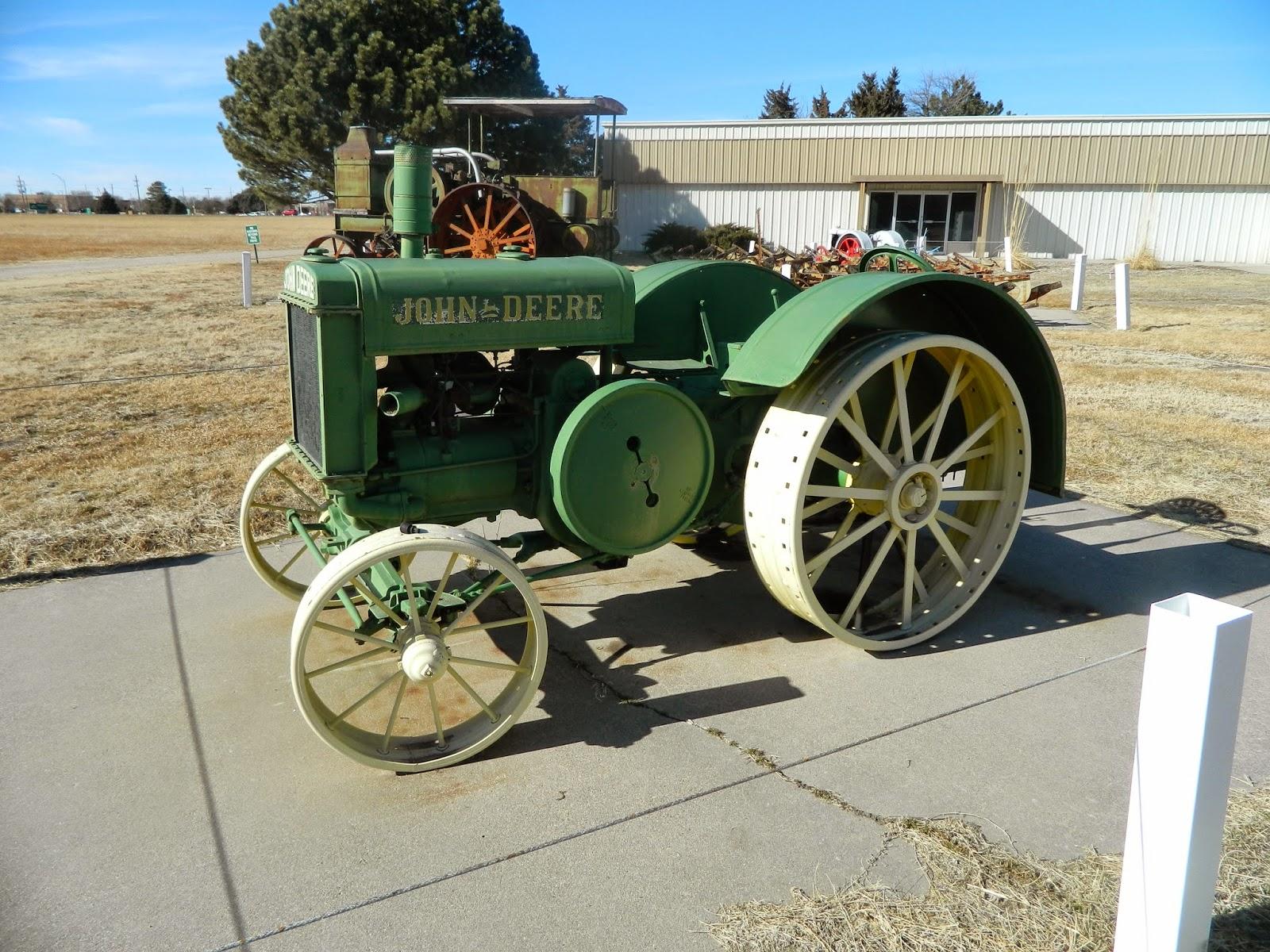 Stuhr Museum of the Prairie Pioneer's Tractors: 1929 John