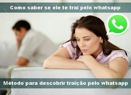Como descobrir traição no whatsapp