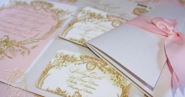 La Pink Paperie The Blog For Paper Nosh Wedding Elegance