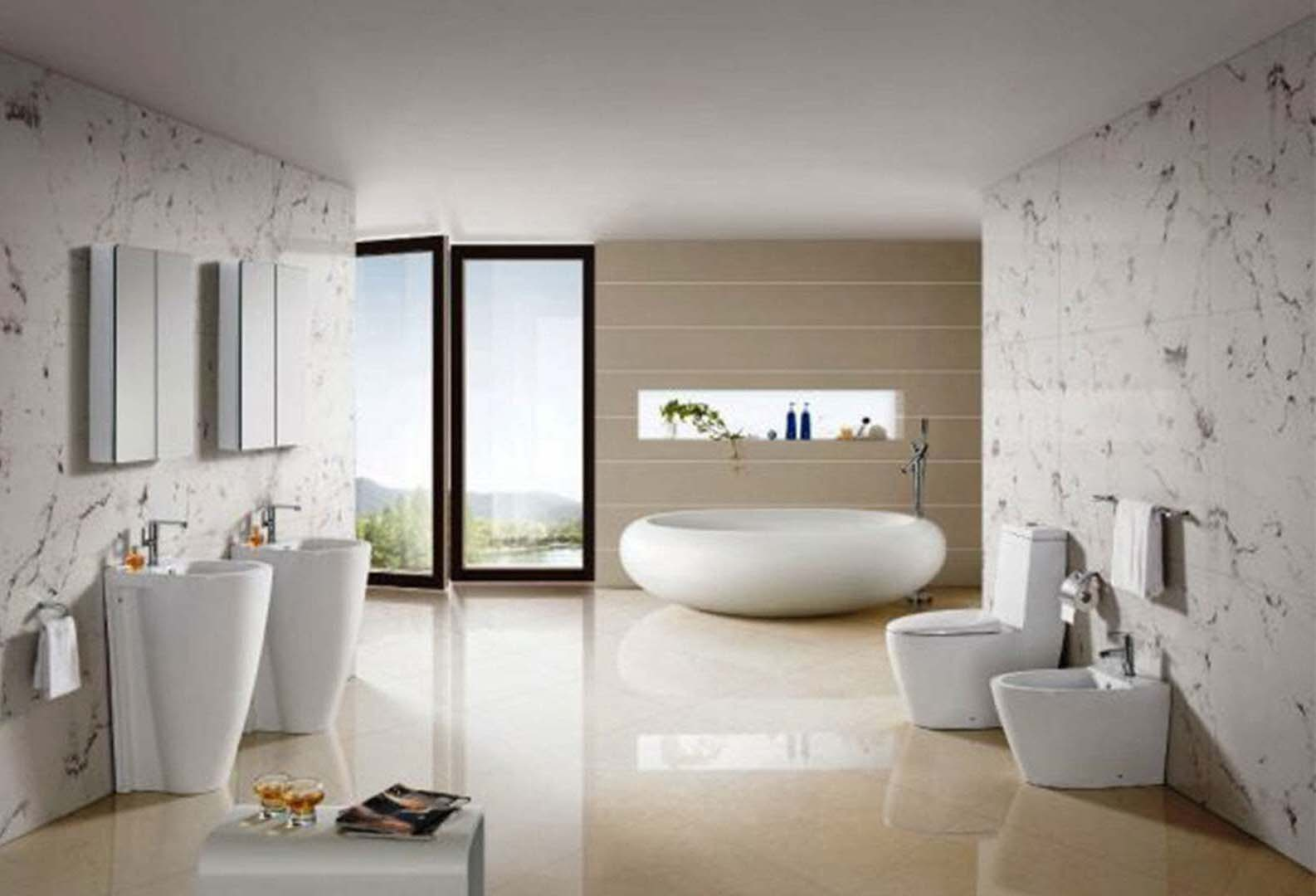 Best bathrooms 2014 - Inspiration Creative Ideas For Decorating A Bathroom Images Wow Bathrooms Ideas 2014 With Additional Furniture Home