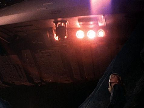El androide R2-D2 en Encuentros en la tercera fase - Cine de Escritor