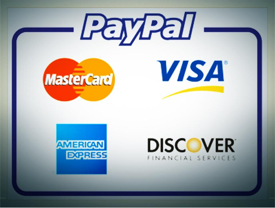 Accept credit card online payment