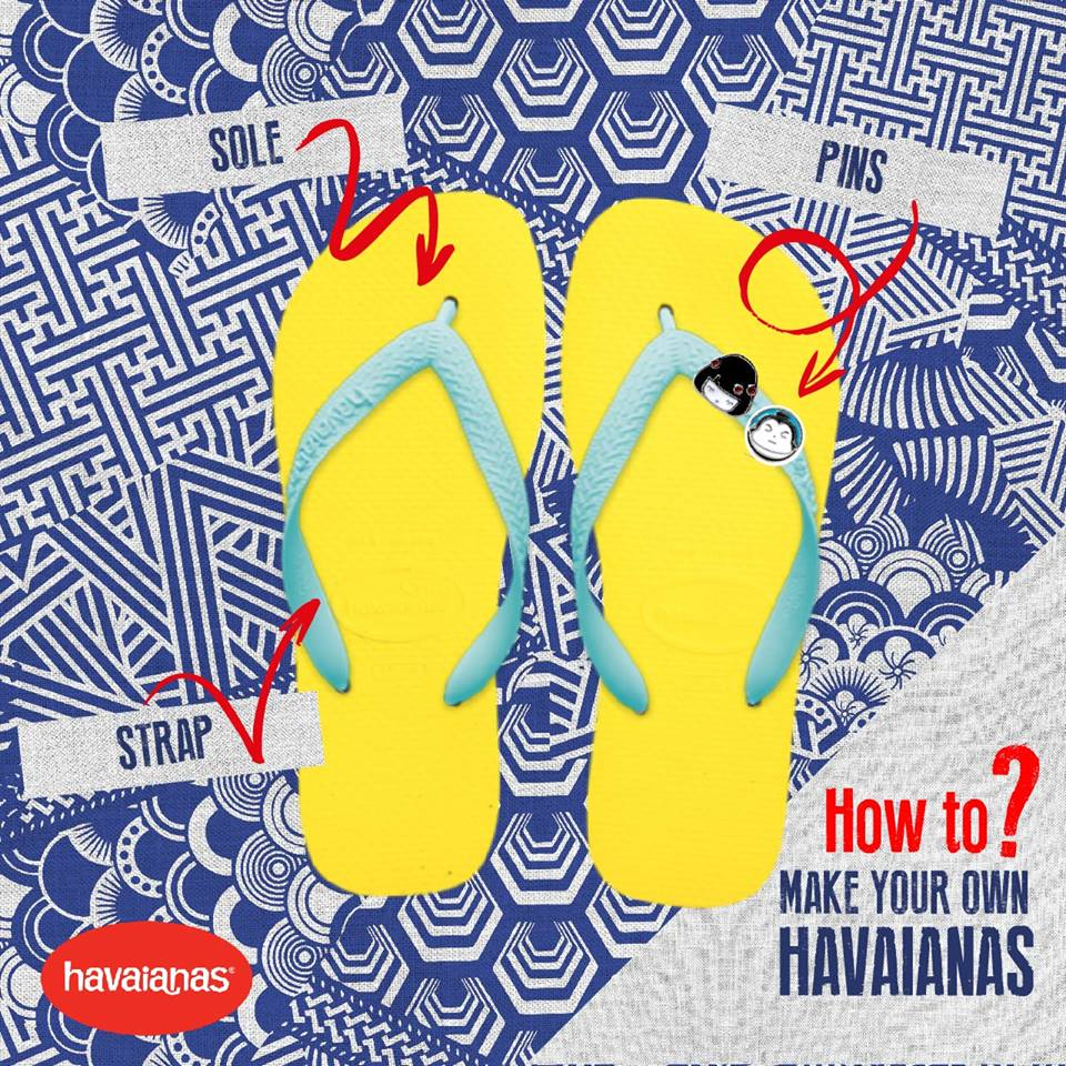 af7e30c8dcaa Make Your Own Havaianas 2016 is turning Japanese!