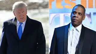 Entertainment: 'Shithole comment'‎ Trump replies Jay-Z