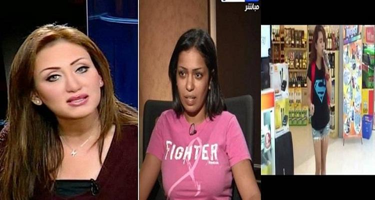 ريهام سعيد تفاجأ الجميع و تعرض فيديو يكشف علاقة فتاة المول بالشاب المعتدي عليها