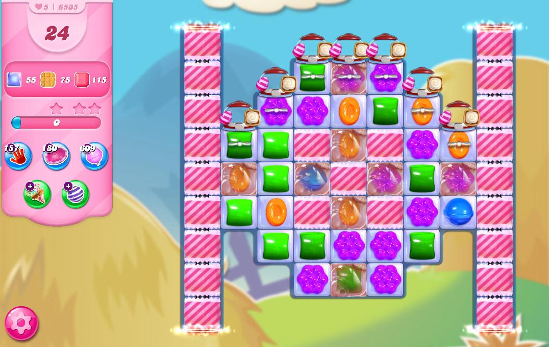 Candy Crush Saga level 6535