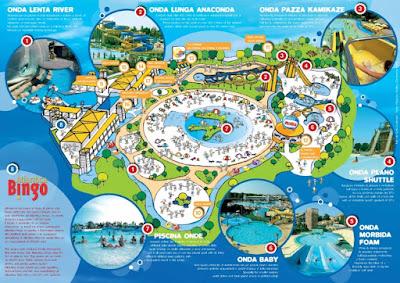 Mappa Atlantica Park Cesentatico