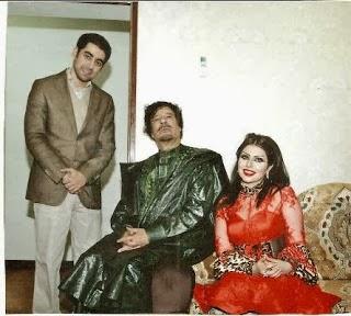 مفاجأة غير متوقعة عن زواج ''حليمة بولند'' من القذافي (صور)