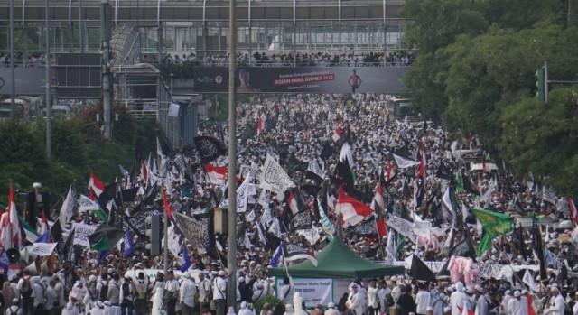 Reuni 212 Minim Sorotan, Prabowo: Media Kondang Memanipulasi Demokrasi