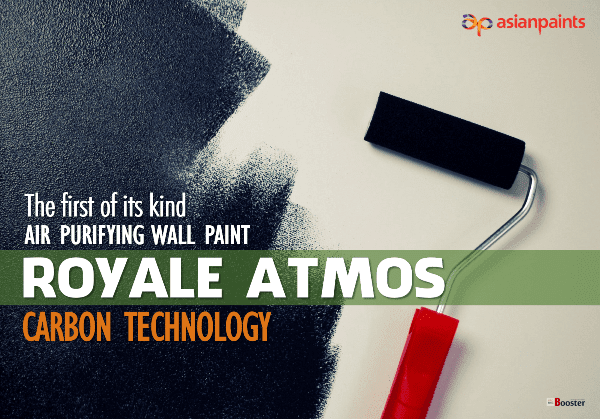 Royale Atmos: The First Air Purifying Wall Paint by Asian Paints, India | Carbon Technology