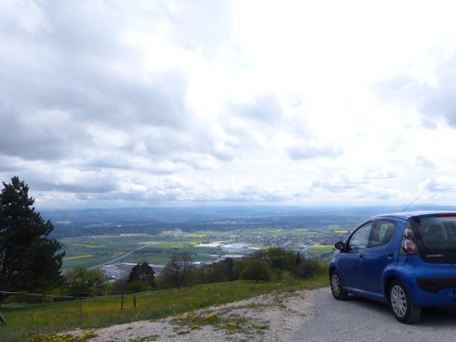 Schweiz Oensingen Urlaub mit Hund Roggen Aussicht Berg Fernblick