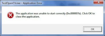 como solucionar el error 0xc00007b