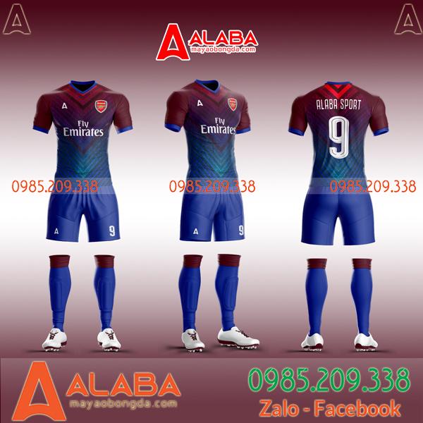 Áo bóng đá clb Arsenal 2020 thiết kế riêng đẹp nhất