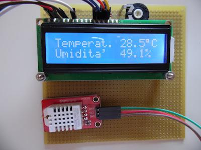 Fig. 6 - Il termometro funzionante di Paolo Luongo