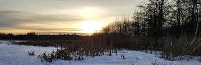 Talvimaisema Sälinkää Mäntsälä