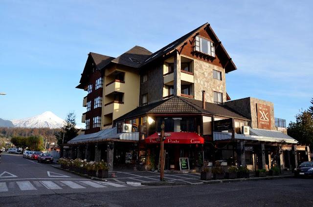 Apart Hotel del Volcan em Pucón, Chile