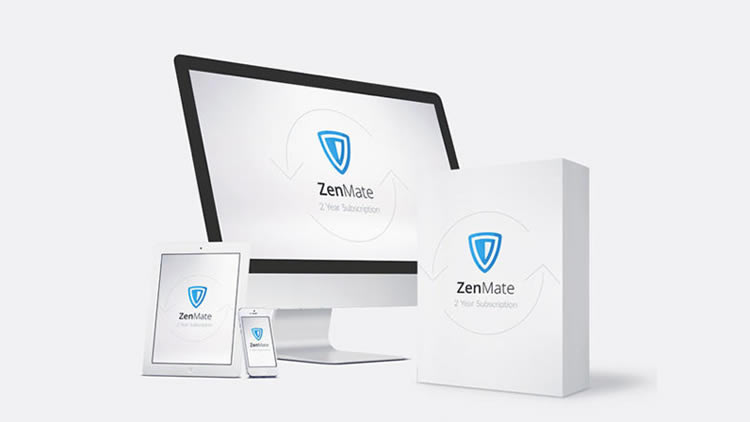 ZenMate VPN Discount Coupon 58% Off for Premium: 2-Yr Subscription