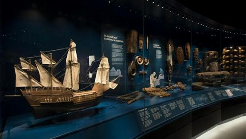 16th century warship the Mary Rose to go on display at new UK museum