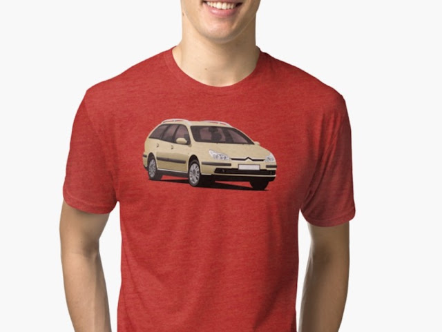 Citroën C5 Break t-shirt