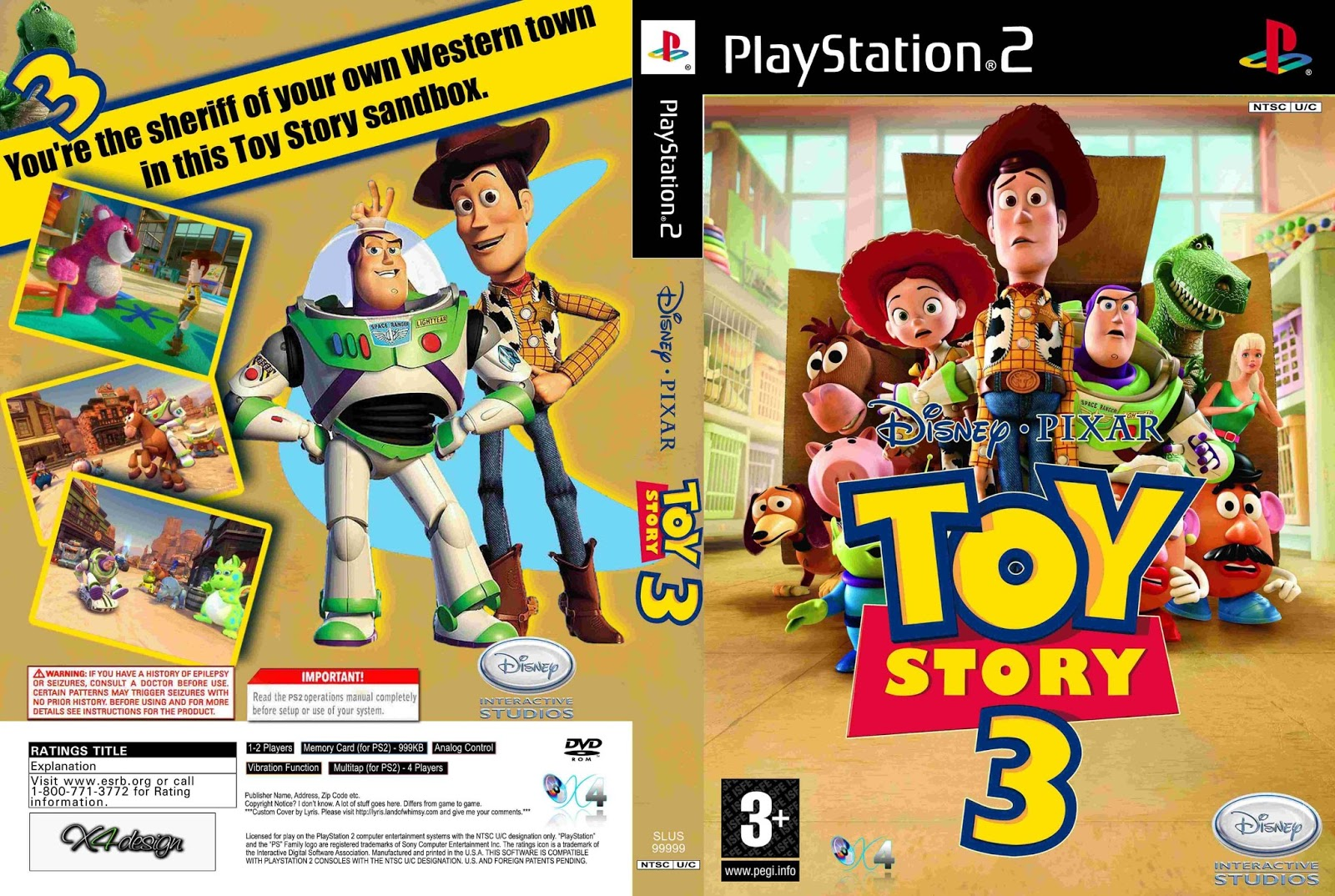 Juegos Y Utilidades Ps2 Toy Story 3 Ps2 Utorrent